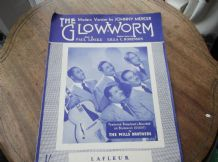VINTAGE ORIGINAL SHEET MUSIC 1952 THE GLOW-WORM MILLS BROTHERS LA FLEUR LINCKE